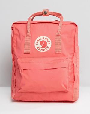 Fjallraven Классический розовый рюкзак Kanken. Цвет: розовый