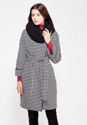 Пальто Electrastyle. Цвет: черно-белый