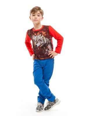 Пуловер TINYFOX. Цвет: красный