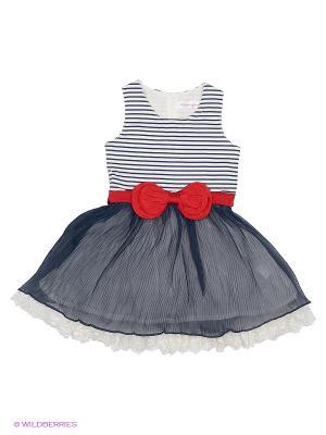 Платье Wonderland. Цвет: синий