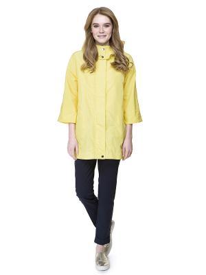 Ветровка Baon. Цвет: желтый