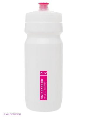 Бутылка для воды BBB. Цвет: белый, розовый