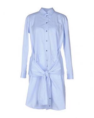Короткое платье ..,MERCI. Цвет: небесно-голубой