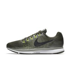 Мужские беговые кроссовки  Air Zoom Pegasus 34 Nike. Цвет: оливковый
