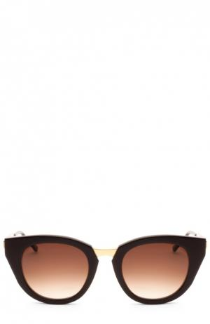 Очки солнцезащитные Thierry Lasry. Цвет: коричневый