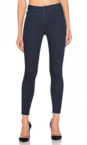 Ультра узкие джинсы высокой посадки no. 2 DL1961. Цвет: none