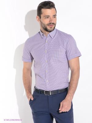 Рубашка Greg Horman. Цвет: фиолетовый