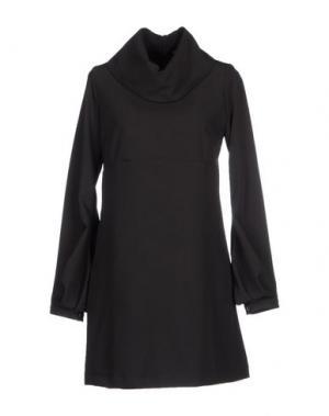 Короткое платье LA CAMICIA BIANCA. Цвет: черный