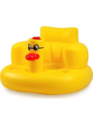 Надувное кресло для детей от 0 до 3 лет Baby Swimmer. Цвет: желтый