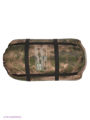 Спальный мешок-одеяло Huntsman. Цвет: темно-зеленый, серый, коричневый, черный