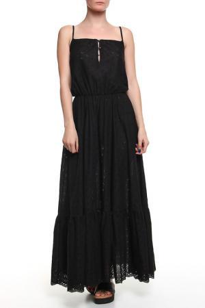 Платье длинное CROISETTE. Цвет: черный