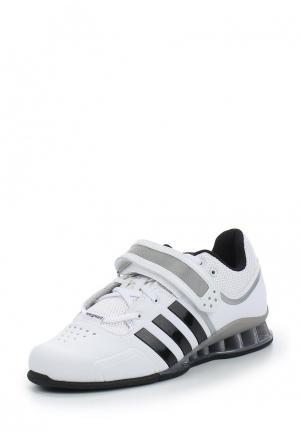 Штангетки adidas. Цвет: белый