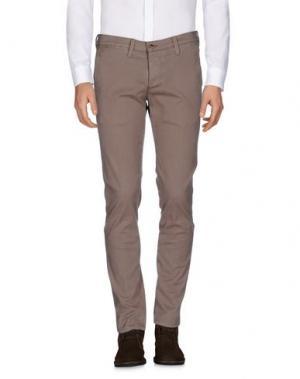 Повседневные брюки ZERO. Цвет: светло-коричневый