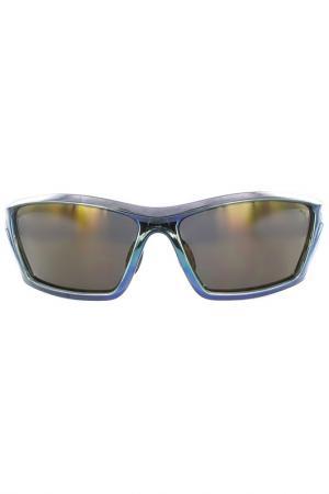 Очки солнцезащитные Puma. Цвет: голубой