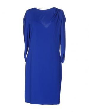 Короткое платье CRISTINAEFFE. Цвет: синий
