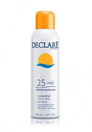 Солнцезащитный спрей SPF 25 с омолаживающим действием Declare. Цвет: белый