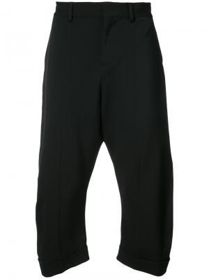 Укороченные брюки строгого кроя Dsquared2. Цвет: чёрный