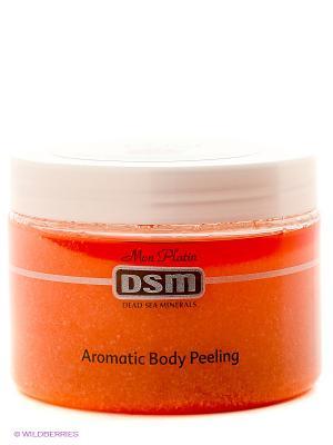 Ароматический пилинг для тела с экстрактом роз и шиповника Mon Platin DSM. Цвет: коралловый