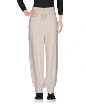 Повседневные брюки BARRIE. Цвет: белый