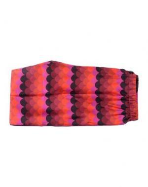 Повседневные брюки F.R.S. FOR RESTLESS SLEEPERS. Цвет: красный