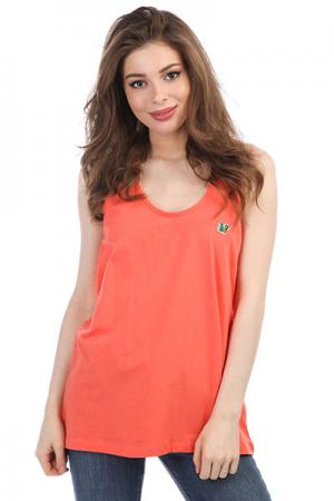 Майка женская  Damon Coral Picture Organic. Цвет: оранжевый