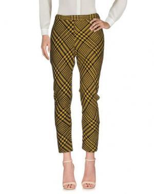 Повседневные брюки BOLONGARO TREVOR. Цвет: желтый