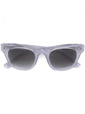 Солнцезащитные очки Dylan Epøkhe. Цвет: телесный