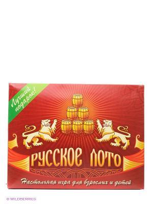 Игра Русское лото Larsen. Цвет: красный, белый