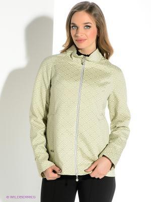 Куртка D`imma. Цвет: светло-зеленый