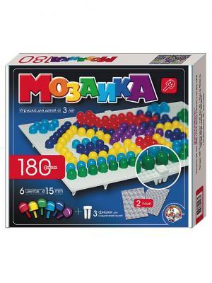 Мозаика d15/6 цв/180 эл/2 поля Десятое королевство. Цвет: синий, желтый, красный
