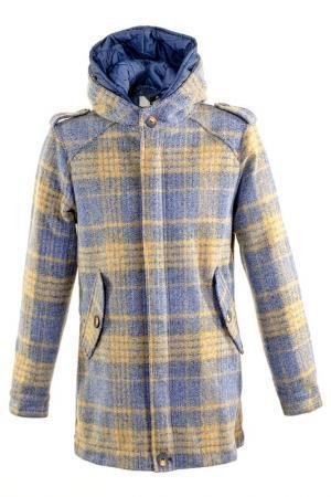 Пальто LOST IN ALBION. Цвет: голубой