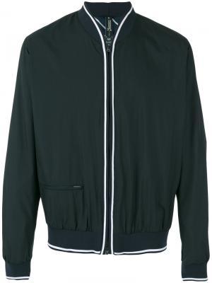 Welt pocket bomber jacket Herno. Цвет: синий