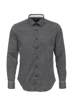 Рубашка Y.Two. Цвет: черно-белый
