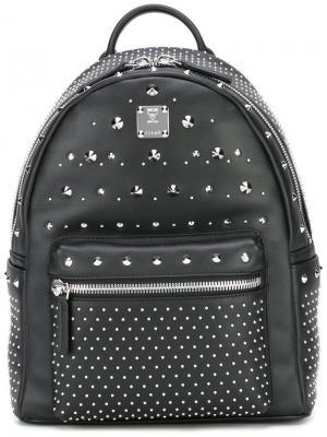 Маленький рюкзак Stark MCM. Цвет: чёрный