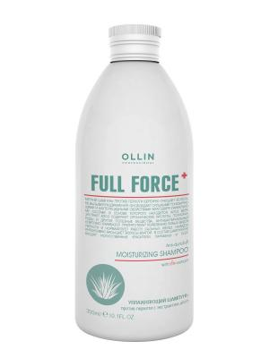 Увлажняющий шампунь против перхоти с экстрактом алоэ 300 мл Ollin Professional. Цвет: прозрачный