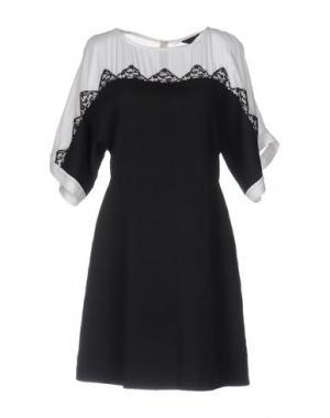 Короткое платье JO NO FUI. Цвет: черный