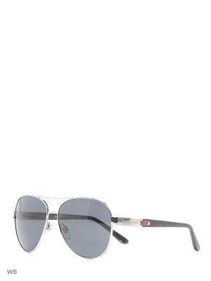 Очки солнцезащитные RALPH LAUREN. Цвет: серебристый