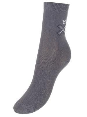 Носки BAYKAR. Цвет: серый меланж