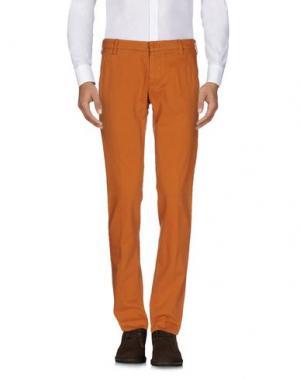 Повседневные брюки ENTRE AMIS. Цвет: коричневый