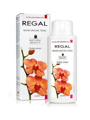 Увлажняющий тоник для сухой и чувствительной кожи REGAL NATURAL BEAUTY, 200мл., (Болгария). Цвет: зеленый