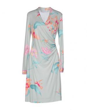 Платье до колена LEONARD. Цвет: светло-зеленый