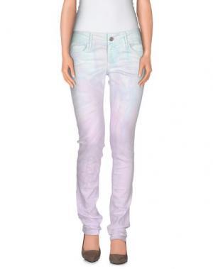 Джинсовые брюки BLACK ORCHID. Цвет: небесно-голубой