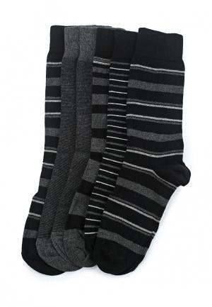 Комплект носков 5 пар Marks & Spencer. Цвет: серый