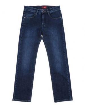 Джинсовые брюки EDDIE PEN. Цвет: синий
