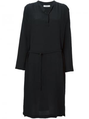 Платье Steffi Humanoid. Цвет: чёрный
