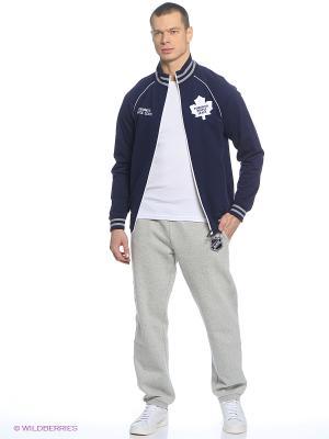 Толстовка NHL Maple Leafs Atributika & Club. Цвет: синий