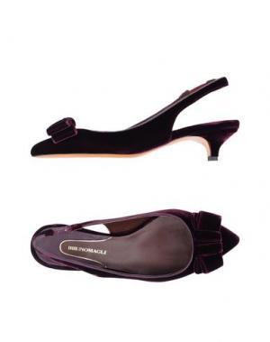 Туфли BRUNO MAGLI. Цвет: баклажанный