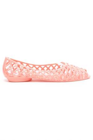 Балетки American Apparel. Цвет: peachy pink