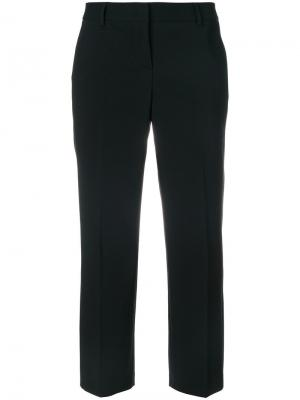 Укороченные брюки Tonello. Цвет: чёрный