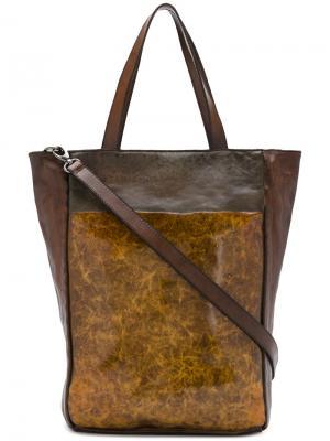Сумка-шоппер Numero 10. Цвет: коричневый